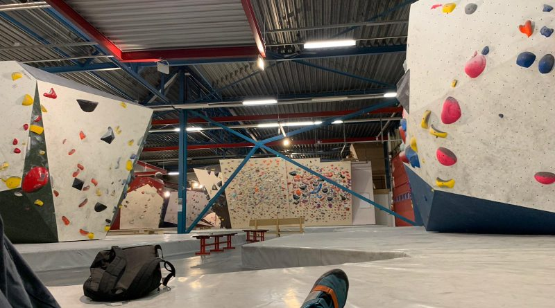 Bouldering Alone at an Empty Gym