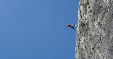 How much weight can a climbing rope hold? maximum weight