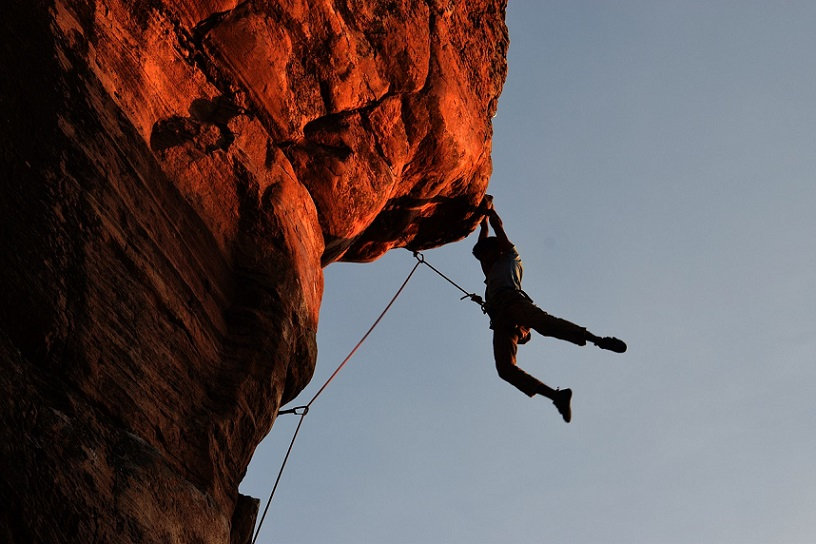 What is multi-pitch climbing?