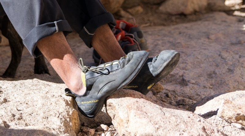 How can I shrink my climbing shoes?