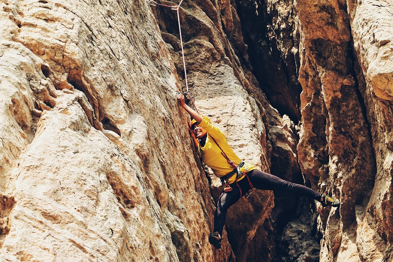 How do climbers get their gear back