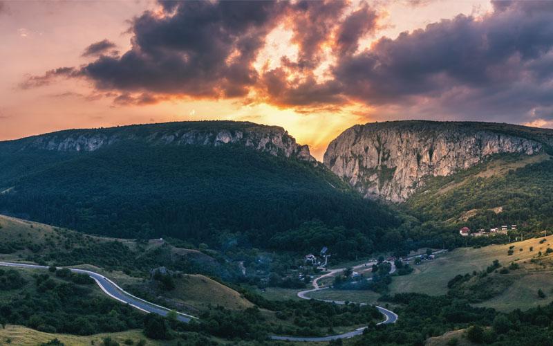 Cheile Turzii climbing, Turda Gorge