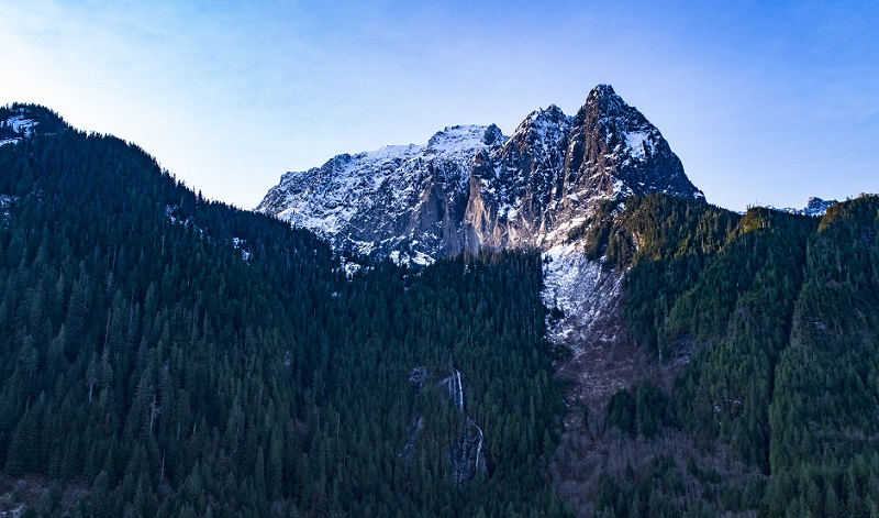 Mount Index Best Climbing Location in Washington State