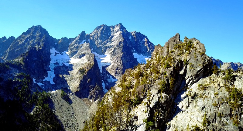 Mount Stuart The Enchantments Climbing Area Washington State