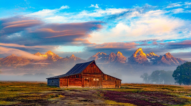 Grand Teton, Gorgeous mountain in Wyoming