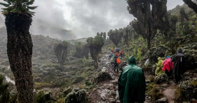 Rainy approach to Mount Kilimanjaro. Best time to climb Kilimanjaro