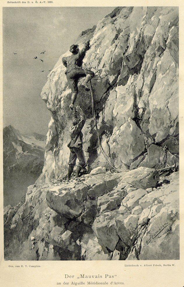 Ludwig Purtscheller in Action